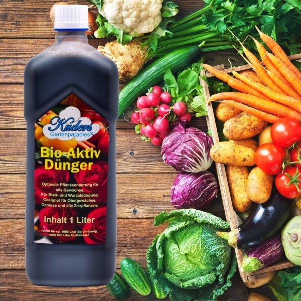 Kuders® Bio-Aktiv Dünger 1 Liter